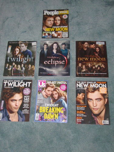 Twilight collection - 8 books and mags for sale in Murray , UT