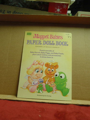 NEW Muppet Babies Paper Doll Book for sale in Murray , UT