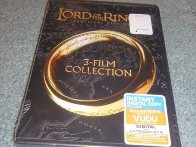 DVD - Lord of the Rings 3-Film Collection - NEW