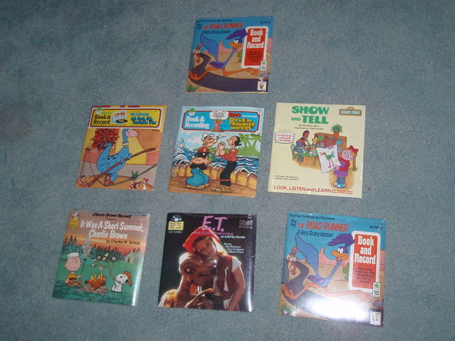 Book and Record read along sets – NEW - $2.50 ea for sale in Murray , UT