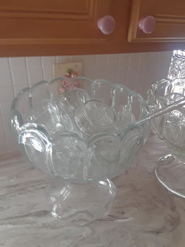 Glass Punch Bowl for sale in Bountiful , UT