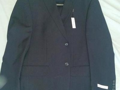 Black Pronto Uomo Suit w/ 2 pants