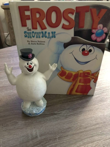 Frosty the Snowman bobble head and book for sale in Murray , UT