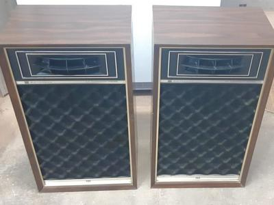Vintage Electrophonic Air Suspension Speakers