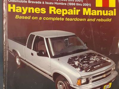 Haynes Repair Manual Chevy S-10 GMC Sonoma 94-01