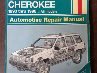 Haynes Repair Manual Jeep Grand Cherokee 1993-1998