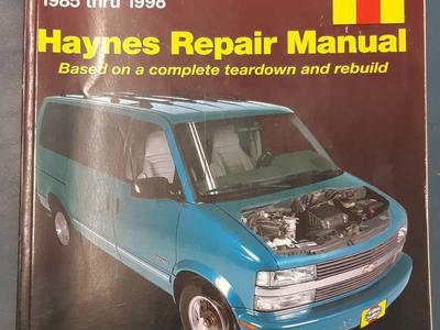 Haynes Repair Manual Chevy Astro Van Safari 85-98