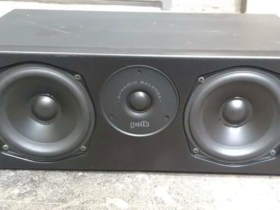 Polk Audio Home Theater Center Channel Speaker