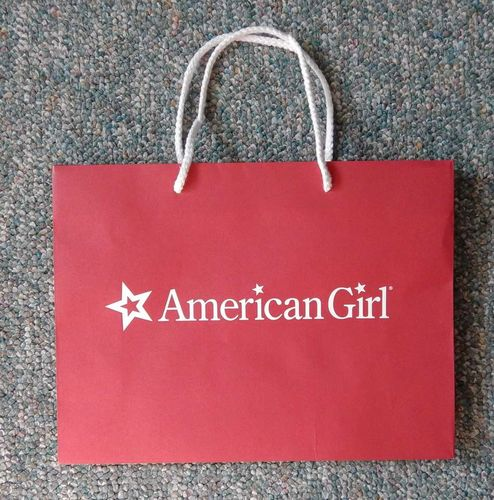 4 American Girl Doll Extra Large Logo Red Gift Store Shopping Bags 22 x 16 x 8 for sale in Sandy , UT