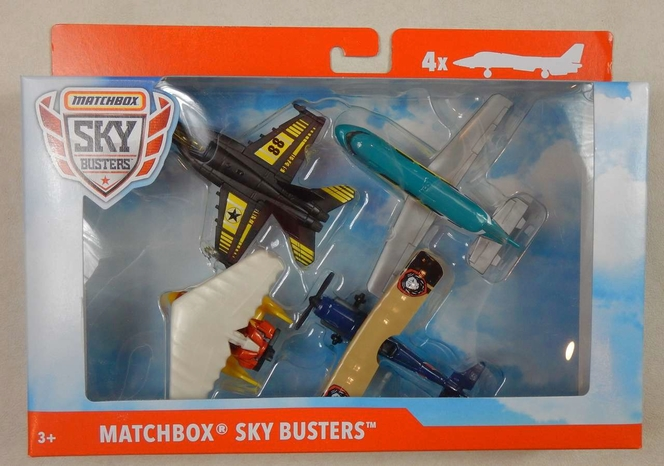 Matchbox Sky Busters Airplanes Set 4pcs New in Box for sale in Sandy , UT