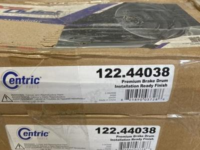 CentricBrake Drums Fits Small Toyota Cars