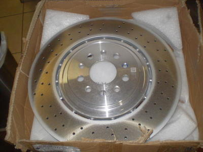 maserati front drilled sloted oem 60037769