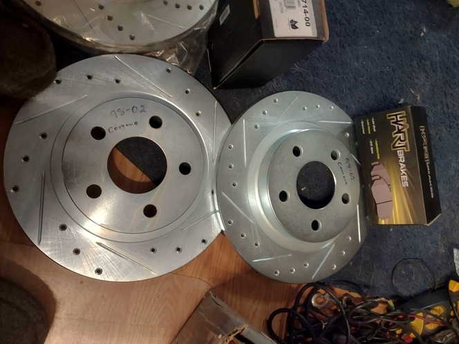 front and rear brake pads 2 rear rotors 1 front 1998-02 Camaro for sale in Salt Lake City , UT