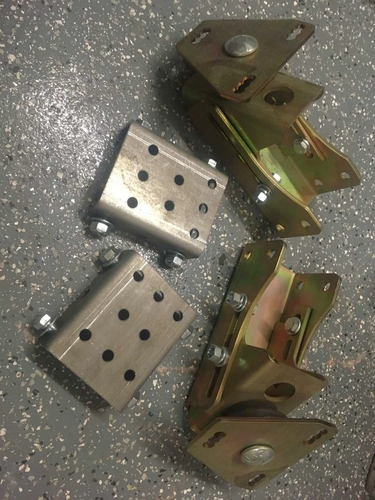 Adapter brackets for Jeep to GM engine. for sale in West Jordan , UT