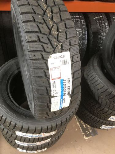 SET OF NEW 215/60R16 SUMITOMO ICE EDGE SNOW TIRES for sale in Midvale , UT