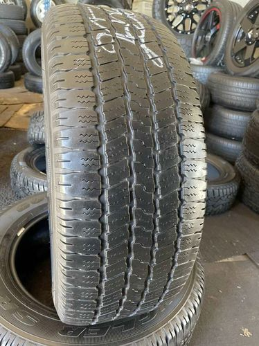 PAIR OF USED TIRES 265/60R18 GOODYEAR EAGLE SR-A for sale in Midvale , UT