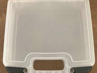 BRAND NEW - Plastic Lunch Box/ Organizer Box