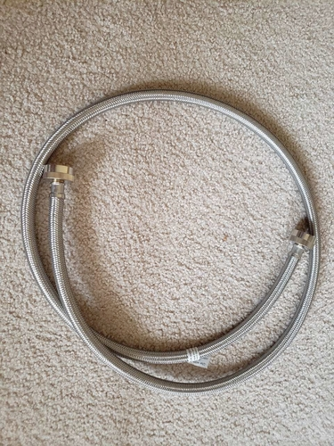 5ft Stainless Steel Washing Machine Hose for sale in Roy , UT