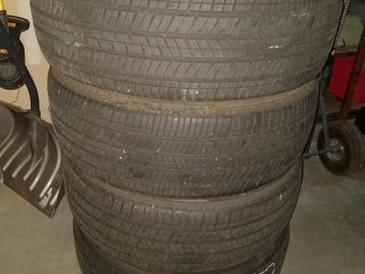 235/55-18 Bridgestone Ecopia tires