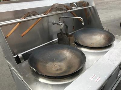 USED Imperial Double Wok Range -Reduced was $4900