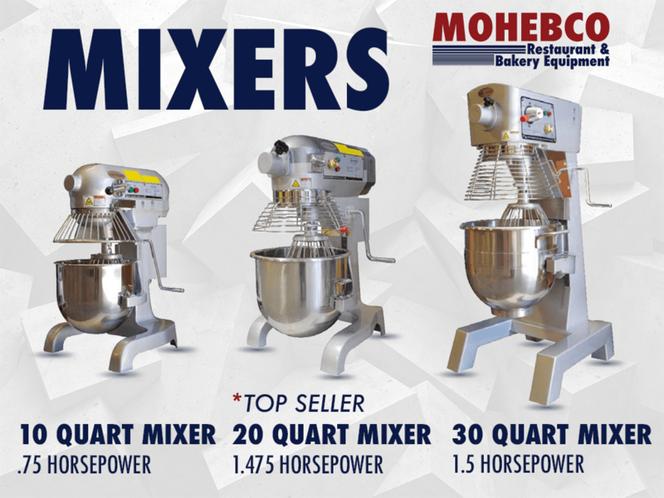 NEW Mixers w/ Timer & Hub 1 year warranty for sale in Salt Lake City , UT