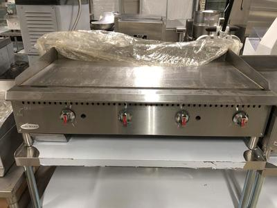 NEW Serv-ware 48 Inch Wide Manual Griddle