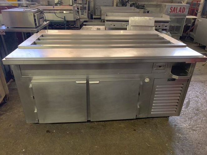 Mega Top 2  Side Pass-Thru Sandwich table Was $4950 Reduced for sale in Salt Lake City , UT