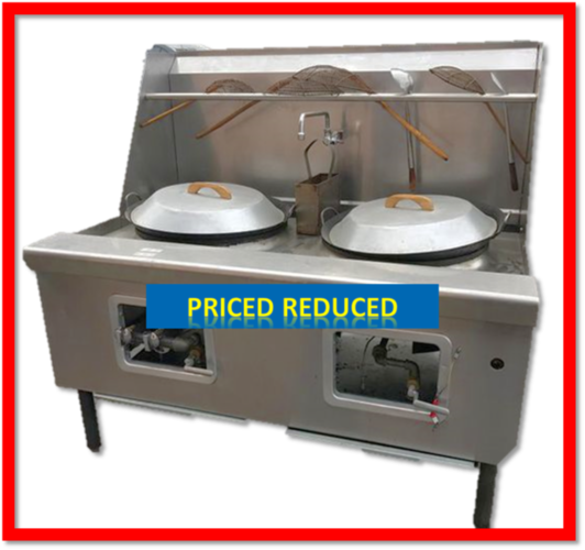 USED Imperial Double Wok Range -Reduced was $4900 for sale in Salt Lake City , UT