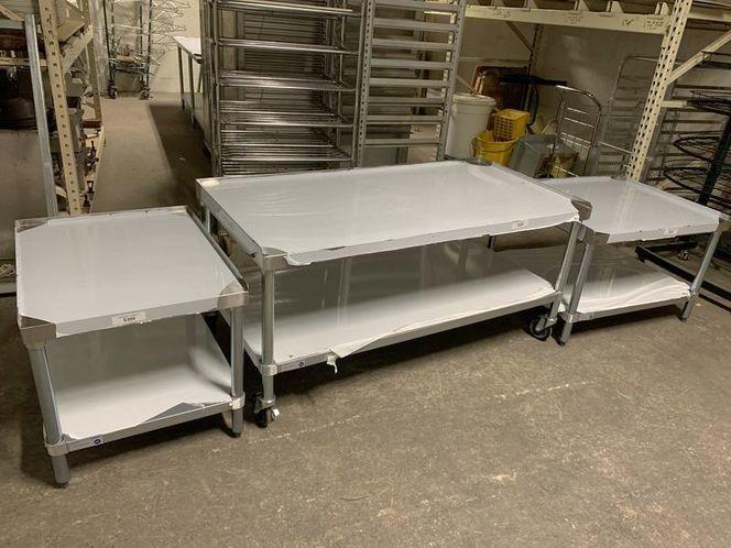 New Stainless Equipment Stand Heavy Duty for sale in Salt Lake City , UT