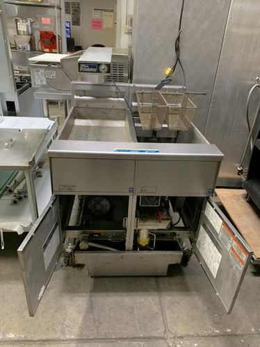 Used Pitco Electric Fryer & Filtration System reduced price $5900 for sale in Salt Lake City , UT