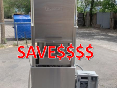 Used Hobart AM14Dish Washer Hi Temp WAS $3500 Price Reduced