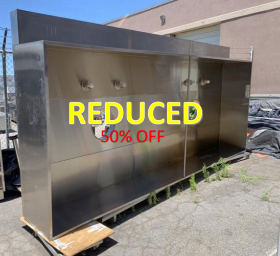 New 15' class 2 captive air hood Reduced Was $5000 for sale in Salt Lake City , UT