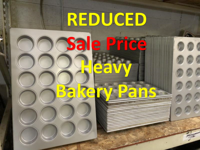NEW Muffin Pans full size in stock reduced  was $60 for sale in Salt Lake City , UT