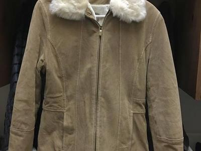 Wilson Leather Tan Suede Coat - NWOT