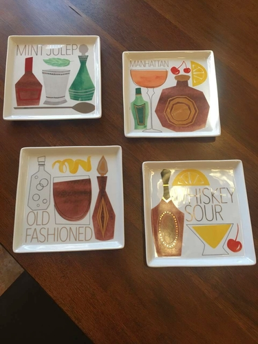 Crate and Barrell Unique Snacks / Hors d' Oeuvre / Bar Plates for sale in Salt Lake City , UT