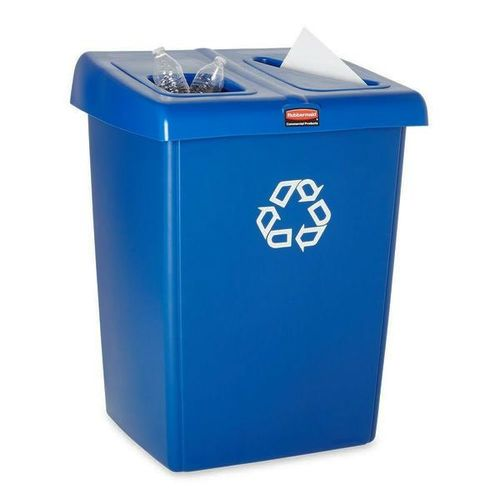NEW! Rubbermaid 2 Stream Glutton Recycle Station for sale in Sandy , UT