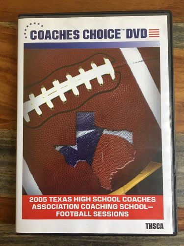 2005 Texas High School Coaches Football DVD for sale in Ogden , UT