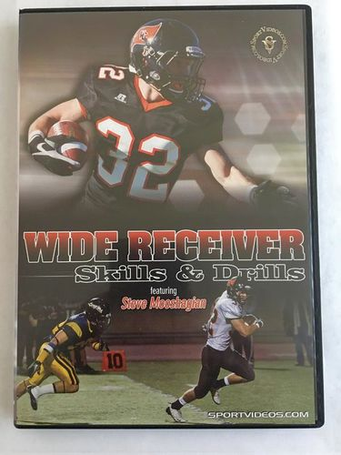 Wide Receivers Skills & Drills DVD for sale in Ogden , UT