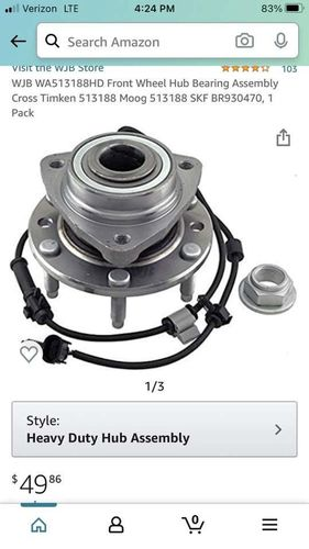 Front Wheel Hub Bearing Assembly Cross Timken for sale in Lehi , UT