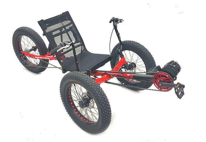 Ebike Fat Tire Full Suspension Recumbent Electric Trike E-Bike for sale in West Jordan , UT