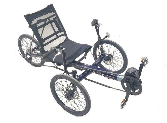 Ebike Recumbent Electric Trike Sun Seeker Eco Tad E-Bike for sale in West Jordan , UT
