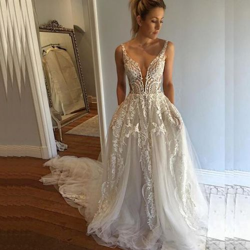 Pallas Haute Couture Musette Wedding Dress Gown  for sale in Vineyard , UT