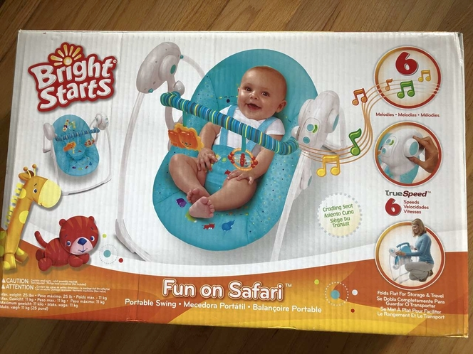 New Portable Baby Swing for sale in South Ogden , UT