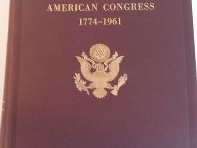 Biographical Directory of the American Congress 1774 to 1961