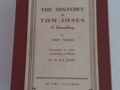 Rare Antique Vintage Historical THE HISTORY OF TOM JONES 1934