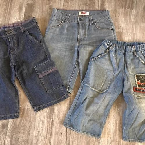 Boy's casual denim and plaid shorts for sale in Sandy , UT