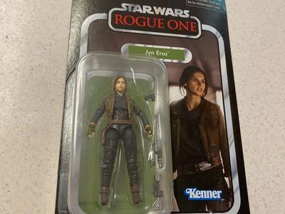 Star Wars Jyn Erso Rogue One Vintage Collection