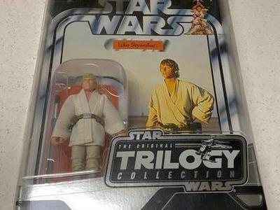Luke Skywalker Vintage Star Wars Figure Star Case