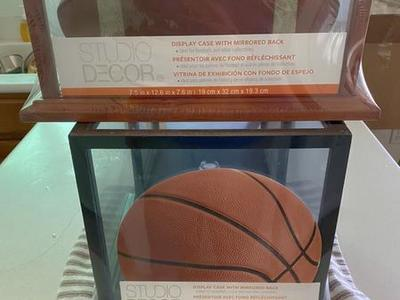 Basketball Display Case Full-Size For Autograph