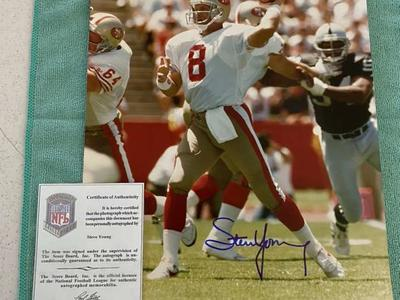 Steve Young 11x14 NFL San Francisco 49ers Photo